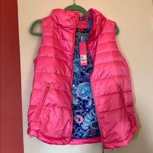 Lilly Pulitzer Puffy Vest